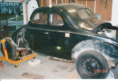 My 1939 Ford Standard Coupe