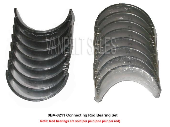 020 Rod, Main and Cam Bearings Ford 239 engine kit 1948-53 8BA truck /& car