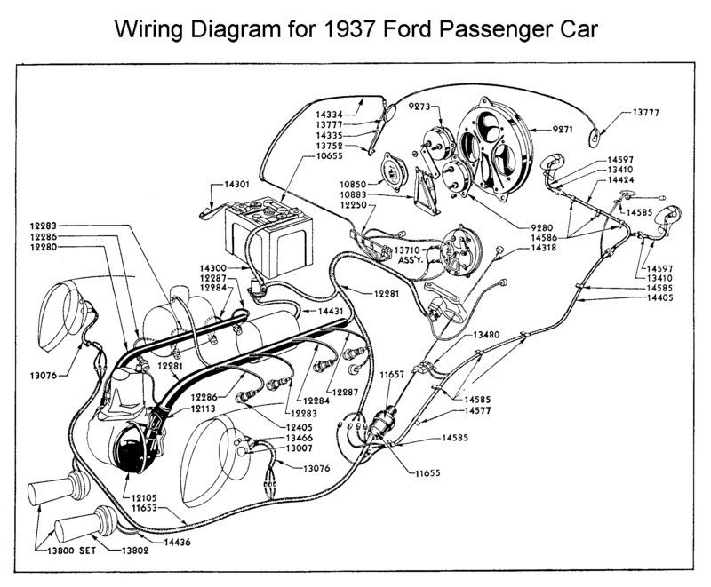 car ac wiring diagram. wiring diagram for 1937 ford car ac l