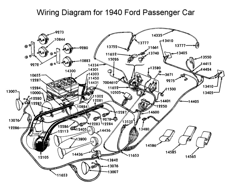 flathead electrical wiring diagrams rh vanpeltsales com 1940 ford truck wiring diagram 1940 ford truck wiring diagram