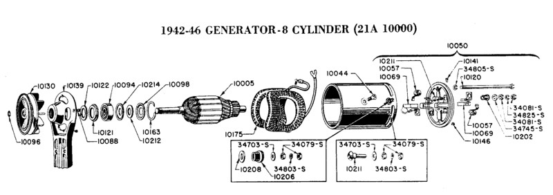 1938 ford generator schematic