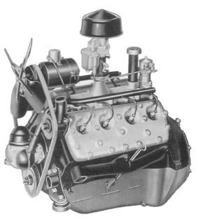 Flathead Engine Complete