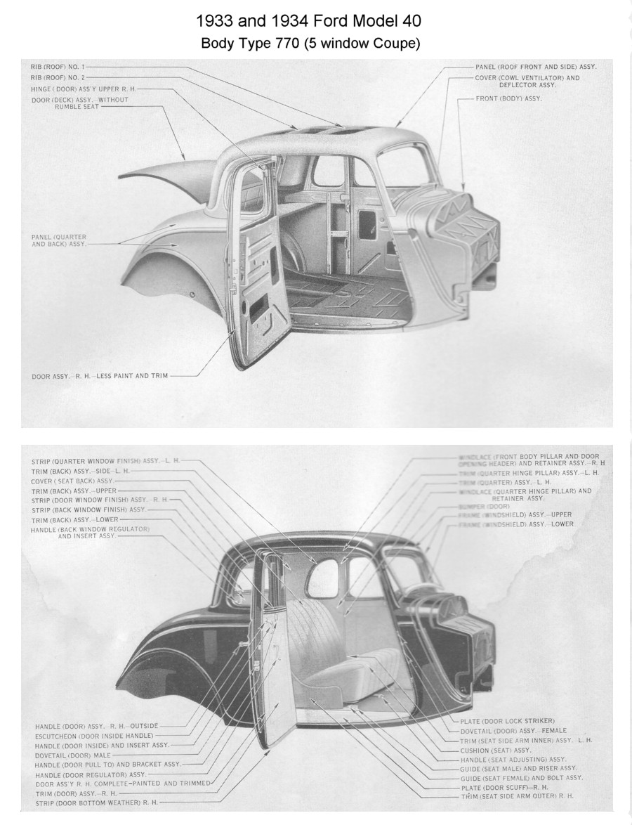 1930 Ford Coupe Parts 1930 Circuit Wiring Diagram Picture