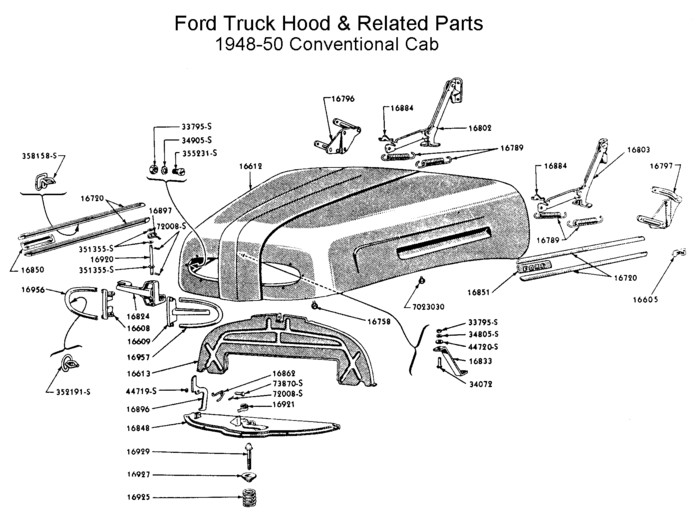Flathead_drawings_rad Grills on 1951 Ford Wiring Diagram