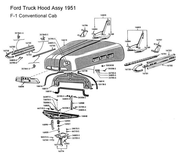 1951 F1 Ford Truck Wiring Diagram: 1000+ Images About Ford Trucks '48-'52 On Pinterest