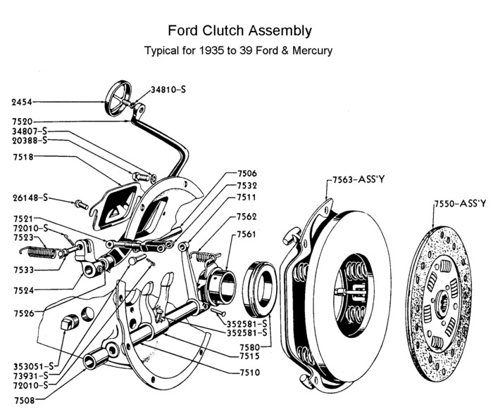Flathead drawings trans furthermore Schematics b besides Schematics g moreover HP PartList moreover Schematics g. on ford f100 clutch linkage