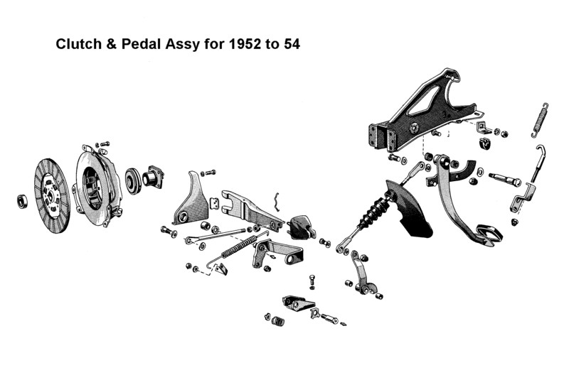 HELP! Anyone familiar with '52-54 Ford Clutch Linkage ...