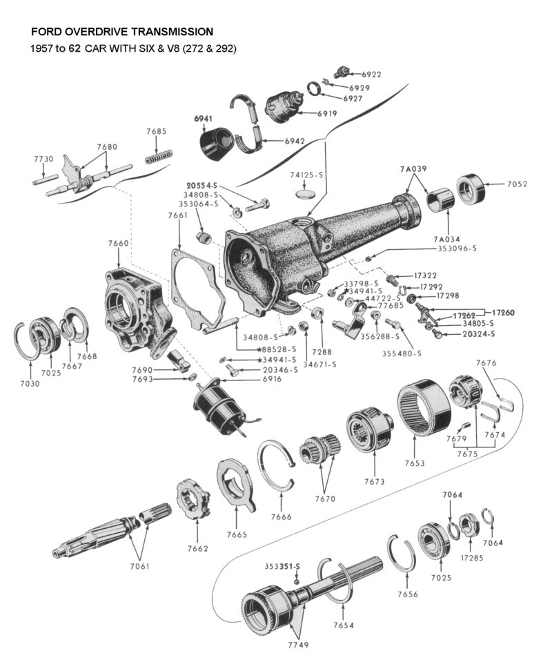 flathead parts drawings