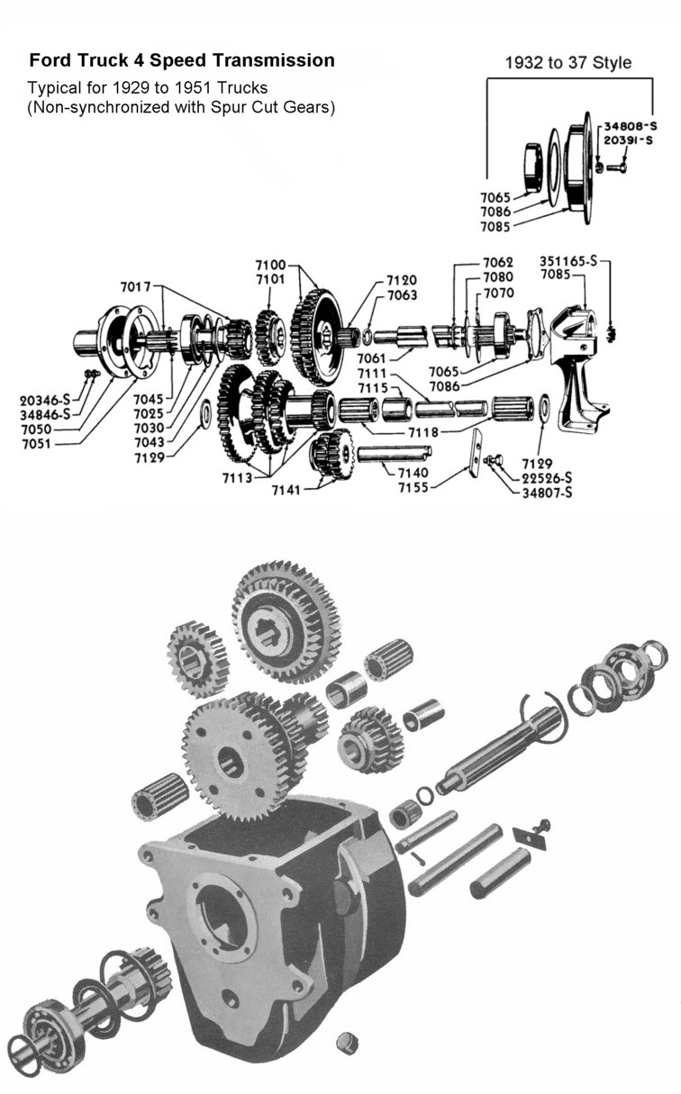 1939 ford truck transmissions