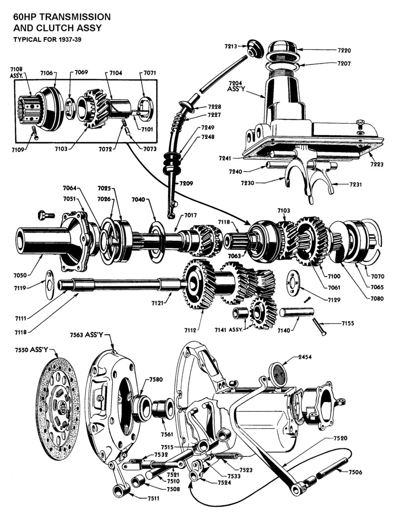 ford toploader diagram t45 diagram