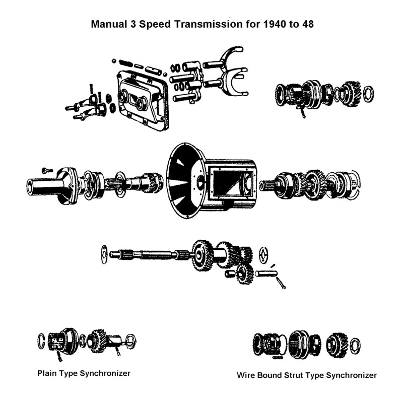 1937 ford transmission diagram